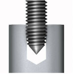 Roll form style of metalworking tap from Triumph Tool in Canada