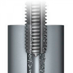 Straight flute style of metalworking tap from Triumph Tool Canada